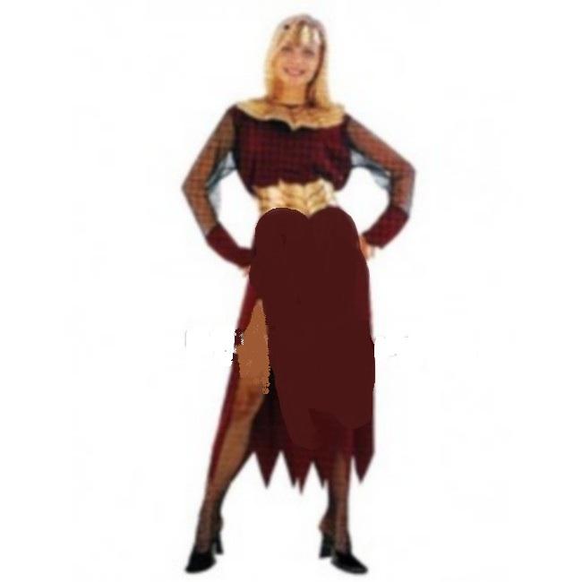 disfraz reina de las llamas mujer - DISFRAZ DE REINA DE LAS LLAMAS MUJER
