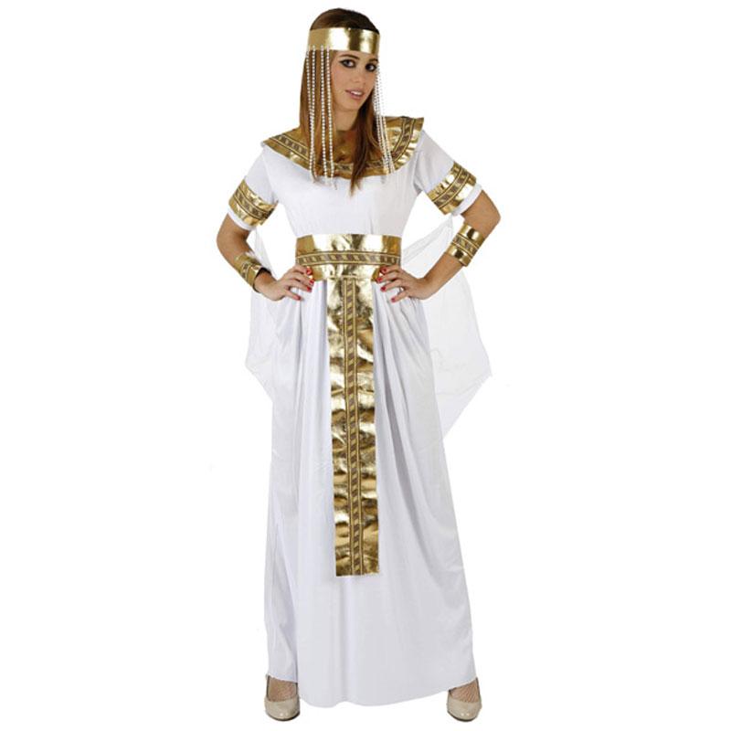 disfraz reina del nilo mujer - DISFRAZ DE EGIPCIA CLEOPATRA ADULTO
