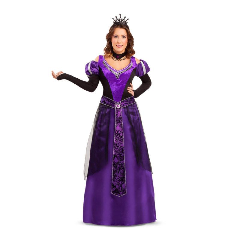 disfraz reina medieval maléfica mujer 800x800 - DISFRAZ DE REINA MALÉFICA MUJER