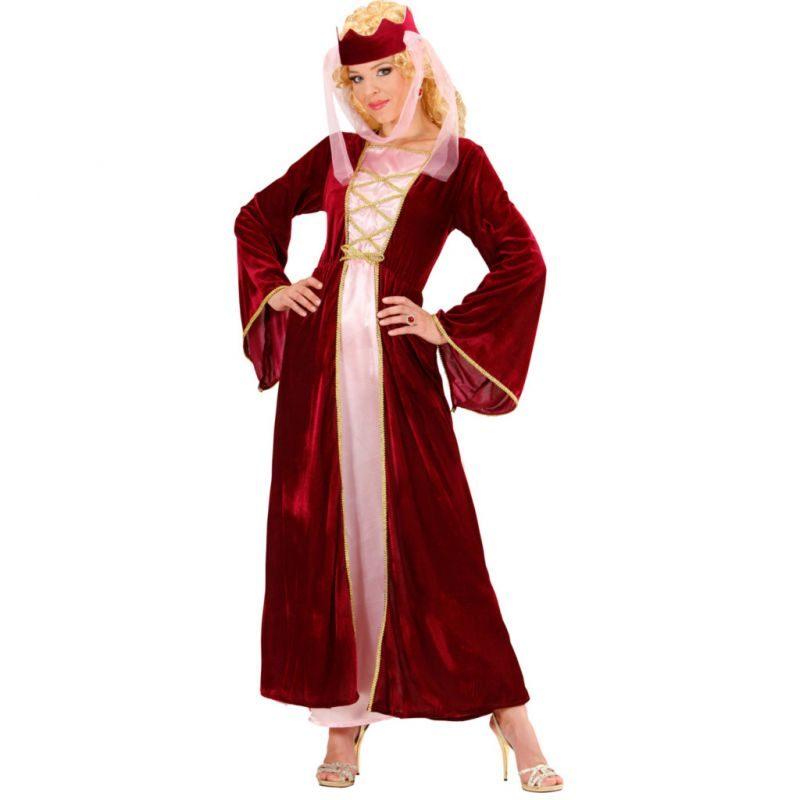 disfraz reina medieval mujer 800x800 - DISFRAZ DE REINA MEDIEVAL MUJER