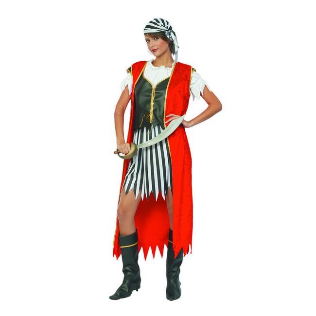 disfraz reina pirata mujer - DISFRAZ DE REINA PIRATA MUJER