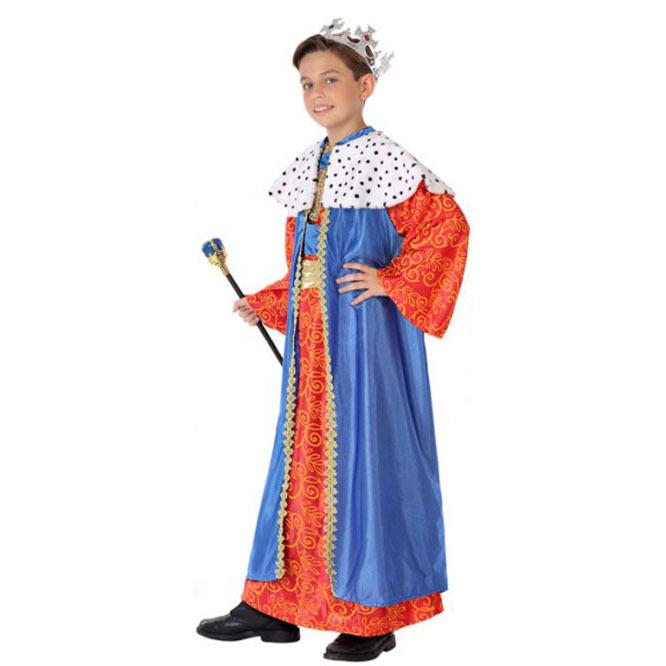 disfraz rey mago azul infantil nino - DISFRAZ DE REY MAGO INFANTIL