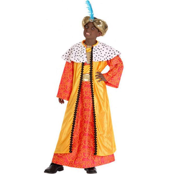 disfraz rey mago oro infantil nino  - DISFRAZ DE REY MAGO INFANTIL