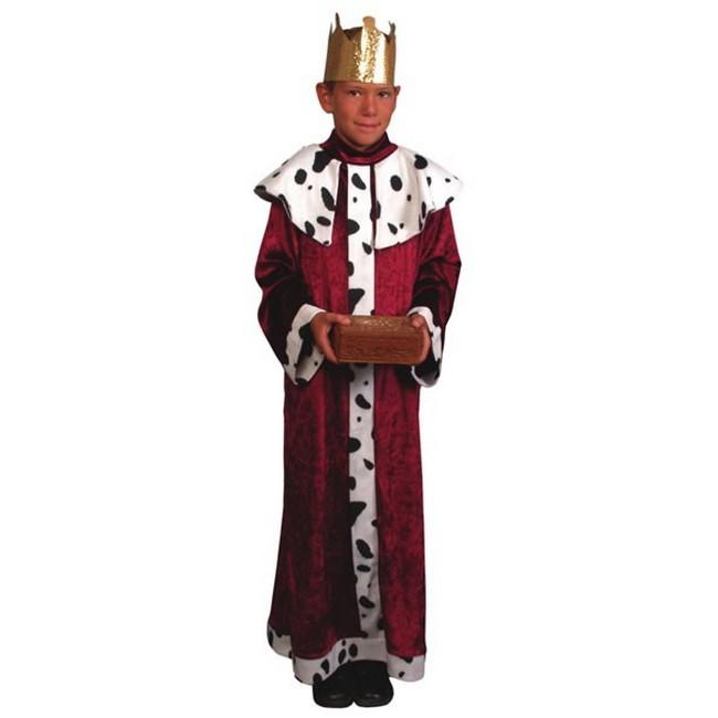 disfraz rey mago rojo infantil - DISFRAZ DE REY MAGO ROJO INFANTIL