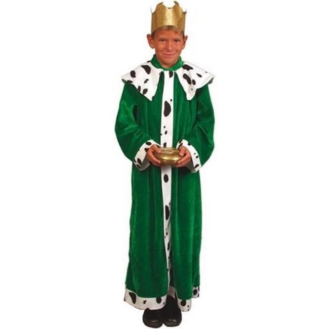 disfraz rey mago verde infantil - DISFRAZ DE REY MAGO VERDE INFANTIL