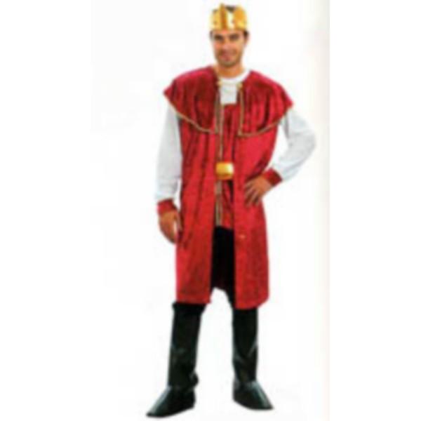 disfraz rey medieval adulto - DISFRAZ DE REY MEDIEVAL ADULTO