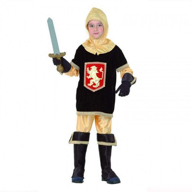 disfraz rey medieval niño 1 - DISFRAZ DE CABALLERO MEDIEVAL LEON NIÑO