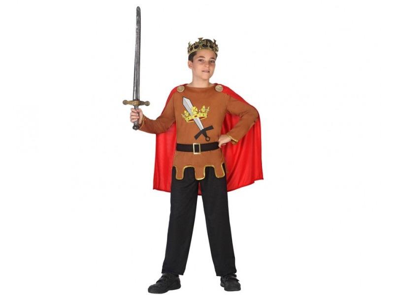 disfraz rey medieval niño 2 - DISFRAZ DE REY MEDIEVAL NIÑO