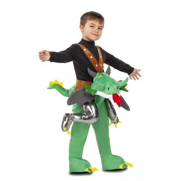 disfraz ride on dragón niño 1 - DISFRAZ DE DRAGÓN A HOMBROS INFANTIL