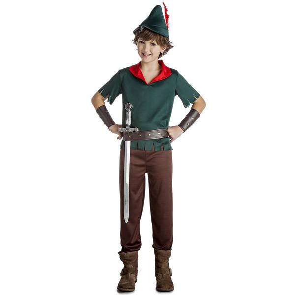 disfraz robin de los bosque niño - DISFRAZ DE ROBIN DE LOS BOSQUES NIÑO