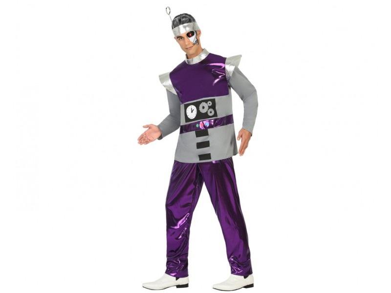 disfraz robot hombre - DISFRAZ DE ROBOT HOMBRE