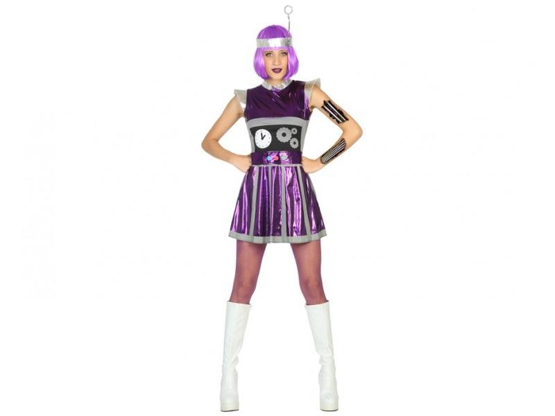 disfraz robot mujer - DISFRAZ DE ROBOT MUJER