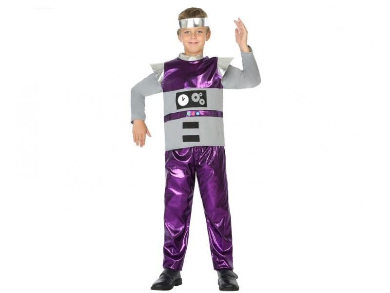 disfraz robot niño - DISFRAZ DE ROBOT NIÑO
