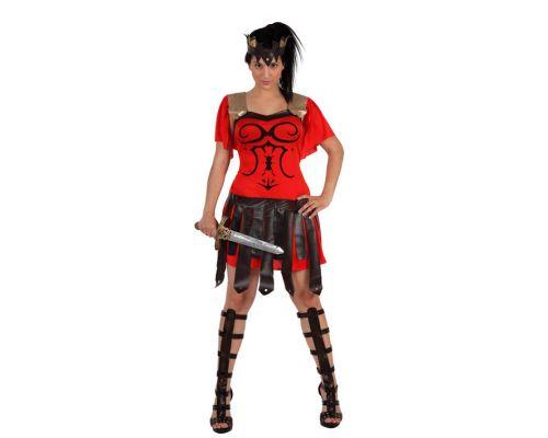 disfraz romana gladiadora mujer - DISFRAZ DE ROMANA GLADIADORA MUJER