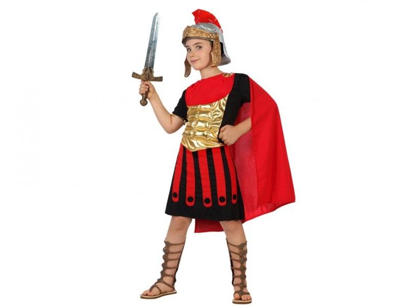 disfraz romano rojo niño - DISFRAZ CENTURION ROMANO NIÑO