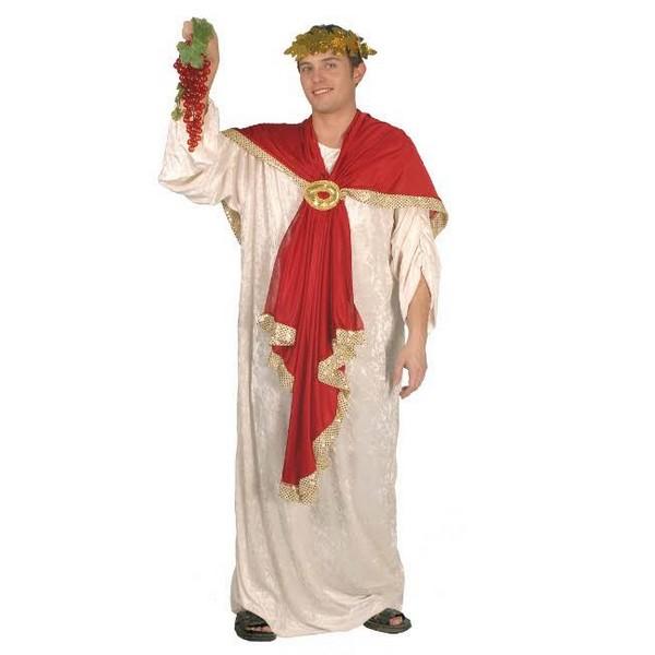 disfraz romano terciopelo hombre - DISFRAZ DE EMPERADOR ROMANO ADULTO