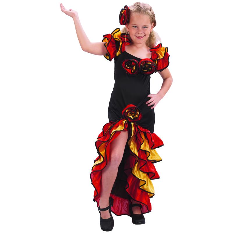 disfraz rumbera infantil - DISFRAZ DE RUMBERA INFANTIL