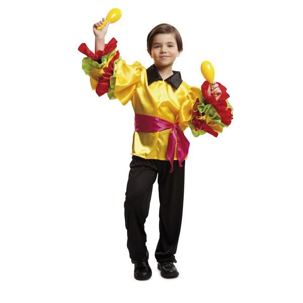 disfraz rumbero niño 1 - DISFRAZ DE RUMBERO NIÑO