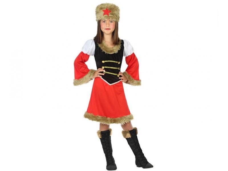 disfraz rusa niña - DISFRAZ DE RUSA NIÑA
