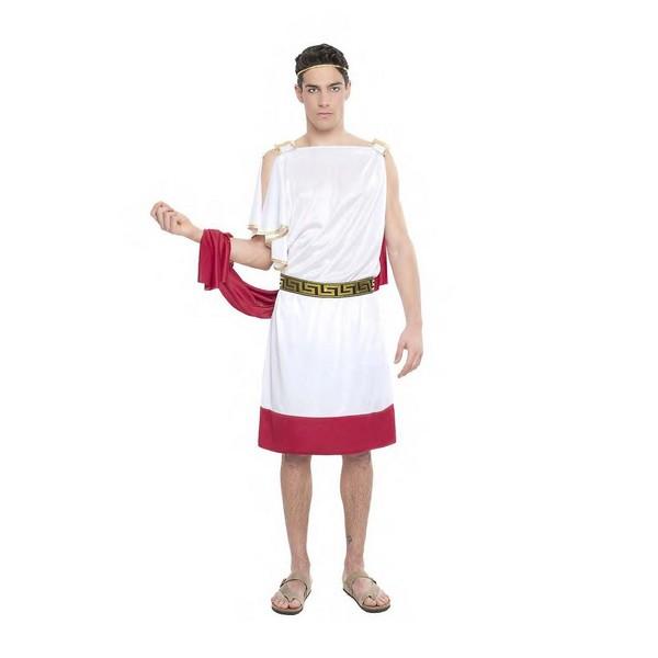 disfraz sacerdota romano hombre - DISFRAZ DE SACERDOTE ROMANO CORTO HOMBRE