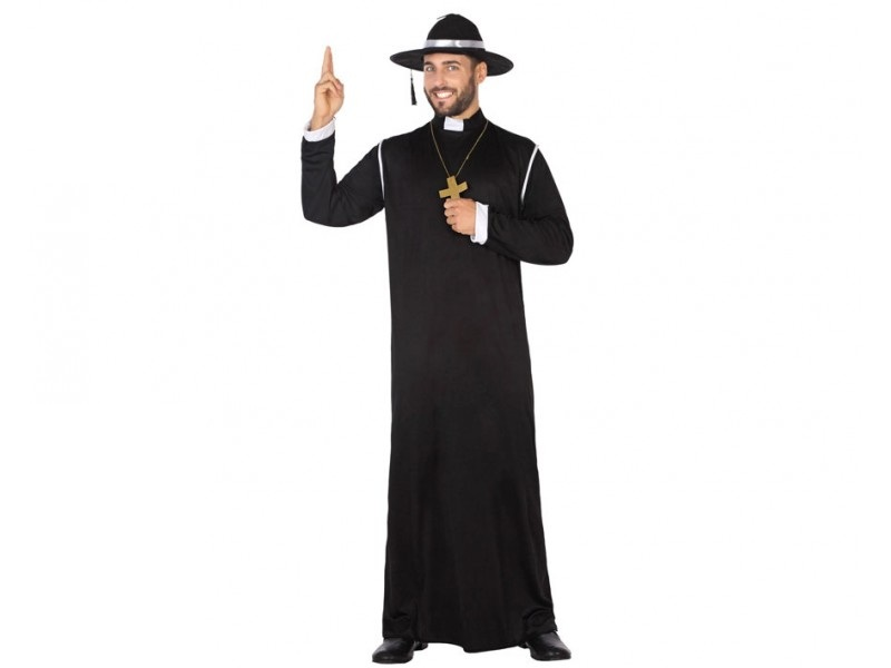 disfraz sacerdote hombre - DISFRAZ DE SACERDOTE HOMBRE