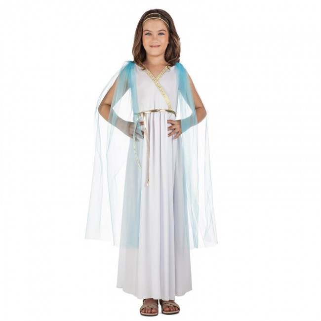 disfraz sacerdotisa griega para nina - DISFRAZ DE  GRIEGA NIÑA