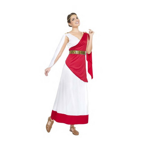 disfraz sacerdotisa romana mujer - DISFRAZ DE SACERDOTISA ROMANA MUJER