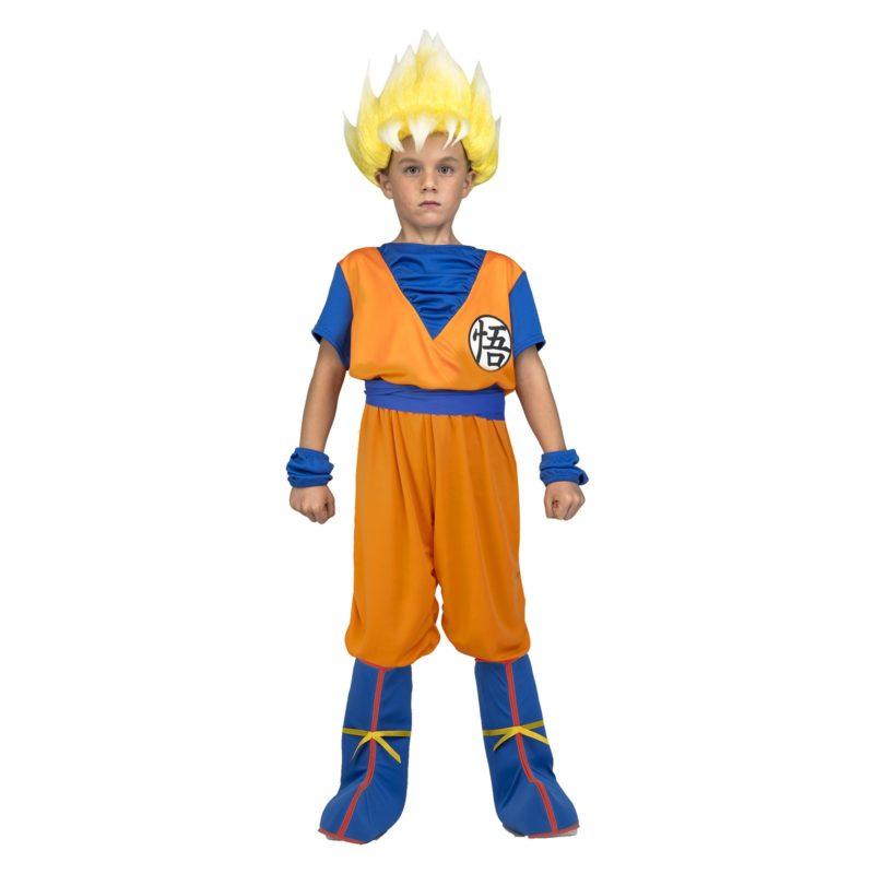 disfraz saiyan goku niño 800x800 - DISFRAZ DE SAIYAN GOKU DRAGON BALL NIÑO