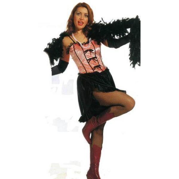 disfraz salon girl - DISFRAZ DE SALÓN GIRL MUJER