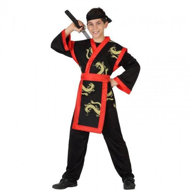 disfraz samurai infantil - DISFRAZ DE NINJA SAMURAI INFANTIL