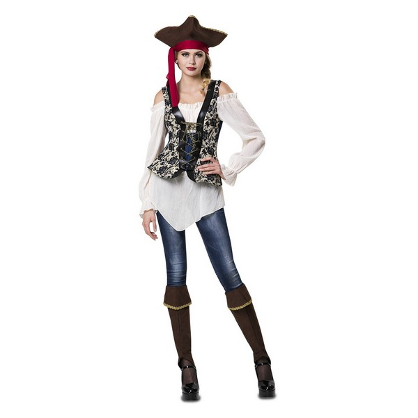 disfraz señorita pirata mujer - DISFRAZ DE SEÑORITA PIRATA MUJER