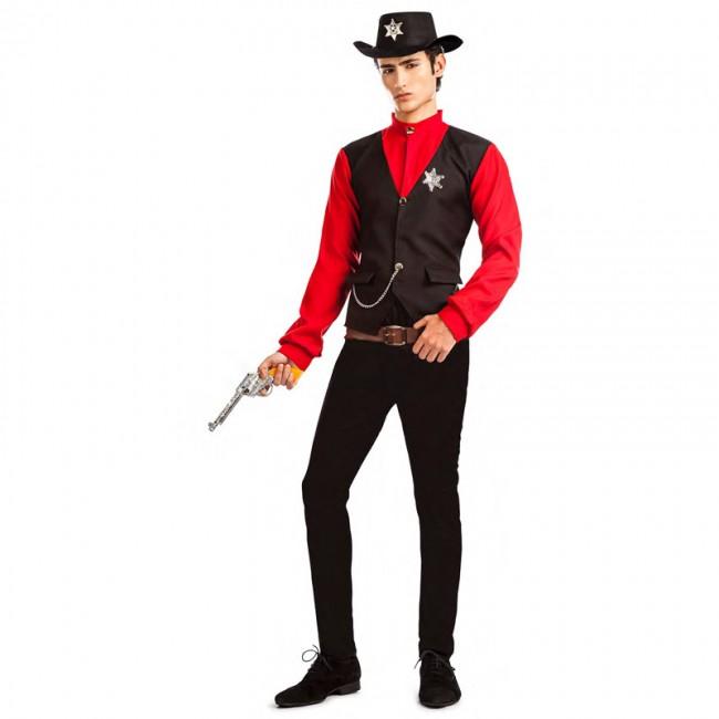 disfraz sheriff del condado para hombre - DISFRAZ DE SHERIFF HOMBRE
