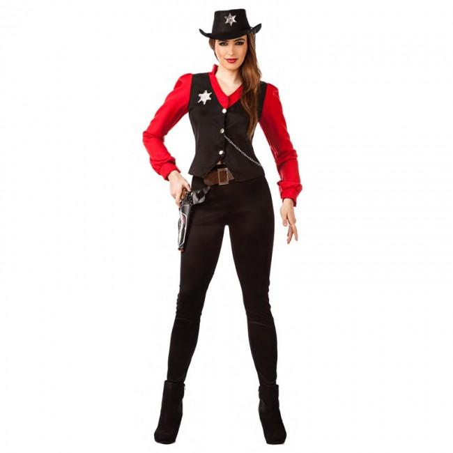 disfraz sheriff del condado para mujer - DISFRAZ SHERIFF DEL CONDADO MUJER
