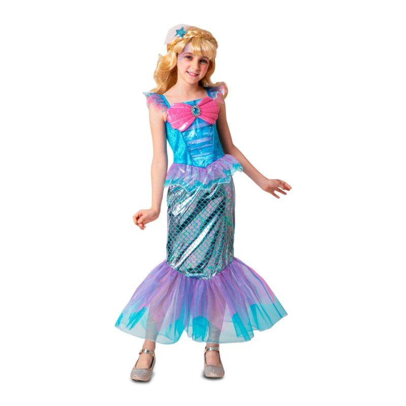 disfraz sirena niña 1 800x800 - DISFRAZ DE BELLEZA SIRENA NIÑA
