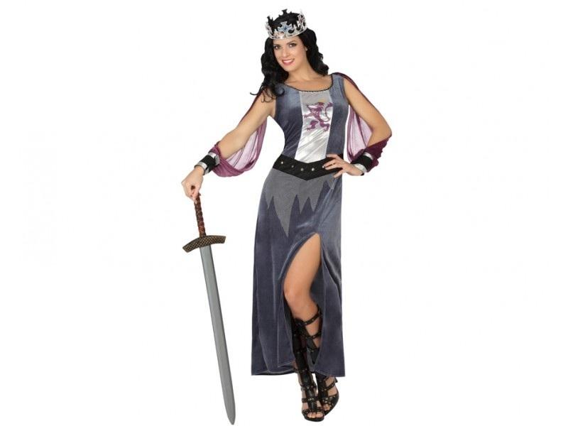 disfraz soldado medieval mujer - DISFRAZ DE GUERRERA MEDIEVAL  MUJER
