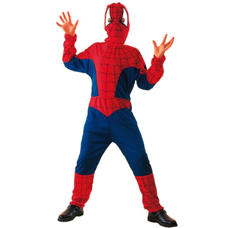 disfraz spiderman capucha infantil - DISFRAZ DE SPIDERMAN INFANTIL