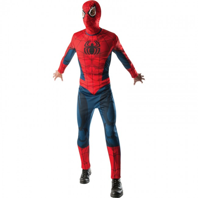 disfraz spiderman marvel niño 670330 - DISFRAZ DE SPIDERMAN ULTIMATE NIÑO