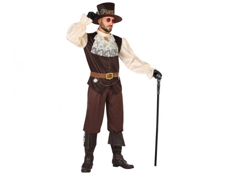 disfraz steampunk hombre - DISFRAZ DE STEAMPUNK HOMBRE