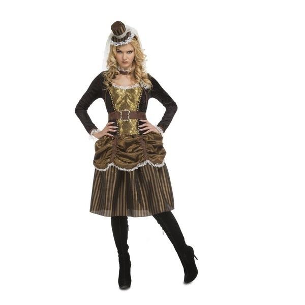 disfraz steampunk mujer 204369mom - DISFRAZ DE STEAMPUNK MUJER