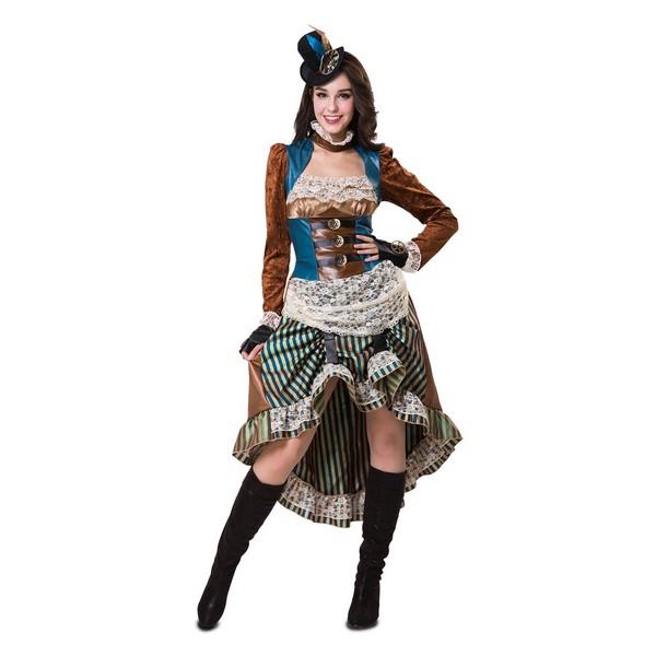 disfraz stempunk lady mujer - DISFRAZ DE STEAMPUNK LADY MUJER