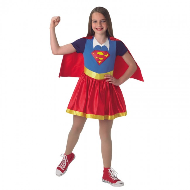 disfraz super girl infantil - DISFRAZ DE SUPERGIRL-DC CÓMIC INFANTIL