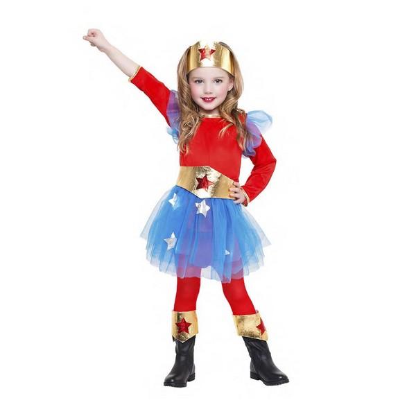disfraz superheroína niña - DISFRAZ DE SUPERHEROINA NIÑA
