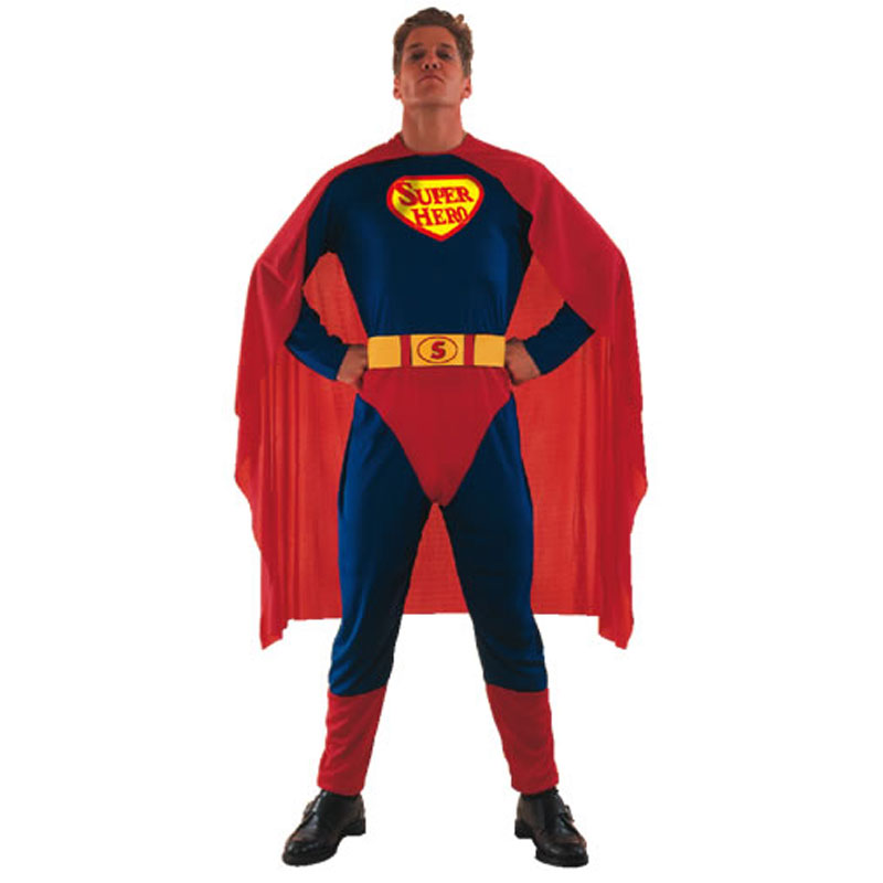 disfraz superman adulto - DISFRAZ DE SUPERMAN PARA ADULTO