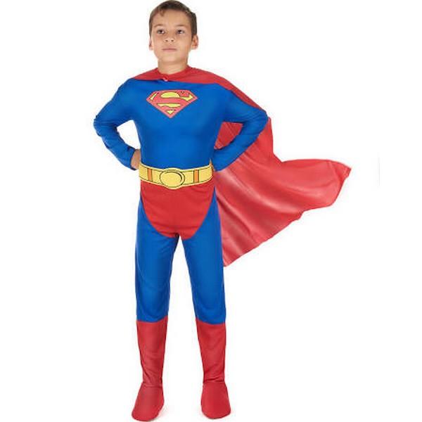 disfraz superman licencia infantil - DISFRAZ DE SUPERMÁN - CÓMIC INFANTIL
