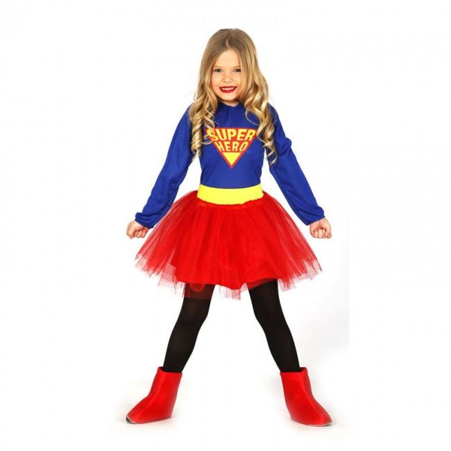disfraz superwoman infantil - DISFRAZ DE SUPERWOMAN NIÑA