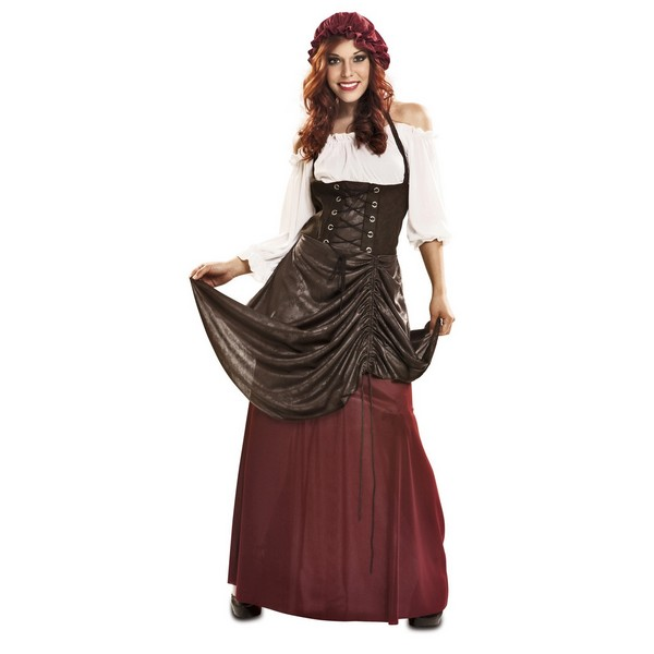 disfraz tabernera mujer - DISFRAZ DE TABERNERA MUJER