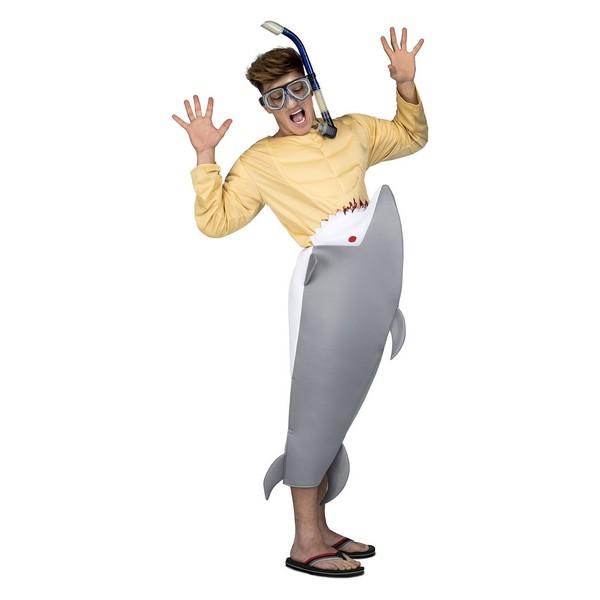 disfraz tiburón hambriento adulto - DISFRAZ DE TIBURON HAMBRIENTO ADULTO
