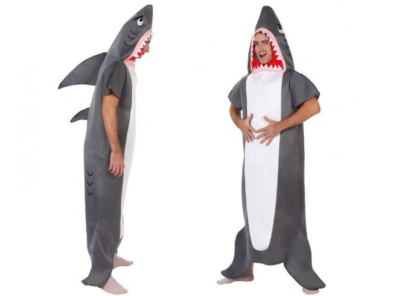 disfraz tiburon adulto 800x600 - DISFRAZ DE TIBURÓN PARA ADULTO