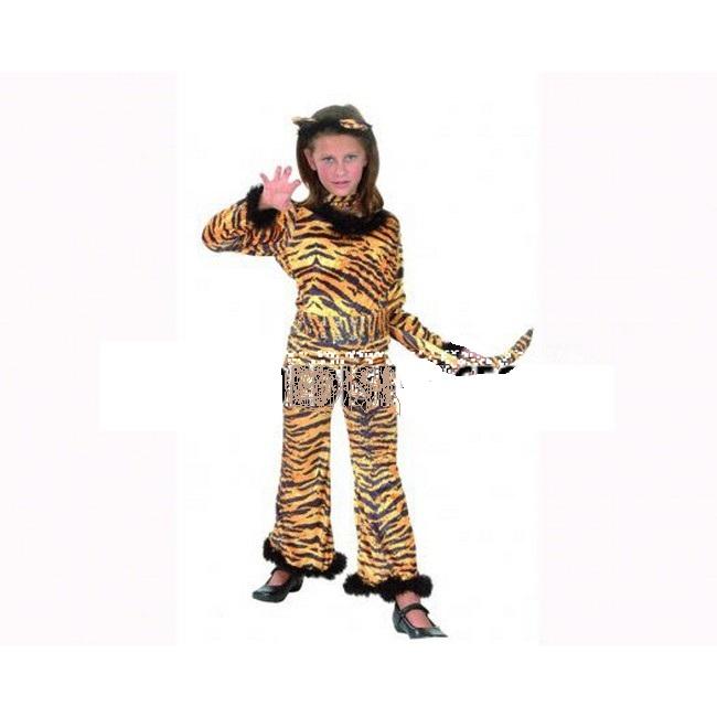 disfraz tigresa salvaje niña - DISFRAZ DE TIGRESA SALVAJE NIÑA