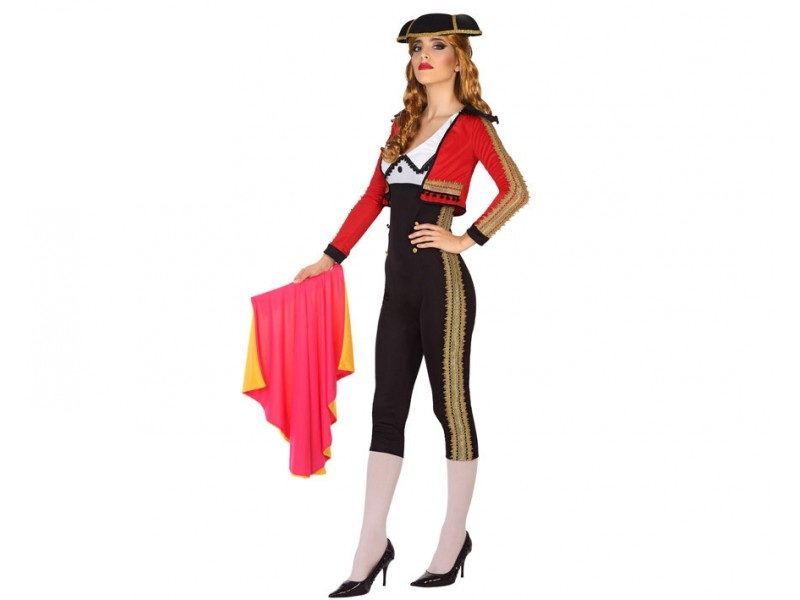 disfraz torera mujer - DISFRAZ DE TORERA MUJER